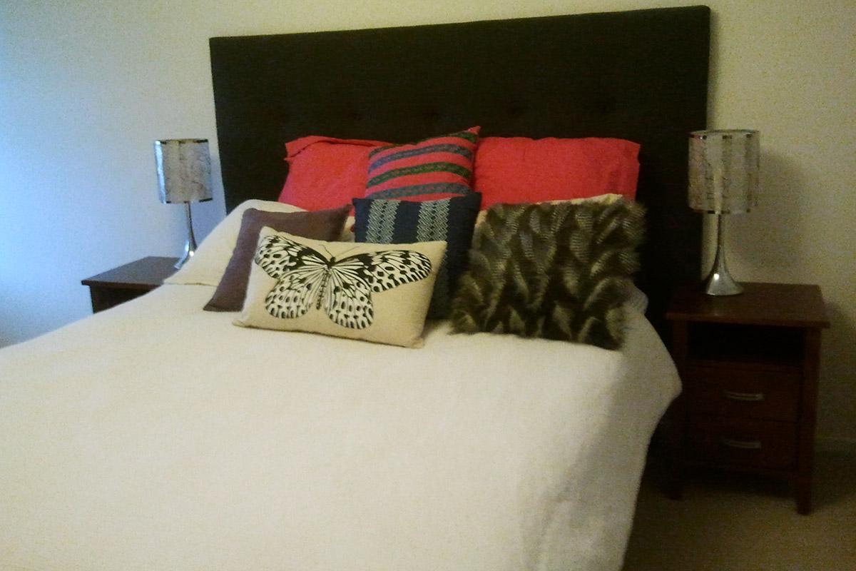 bed reupholster