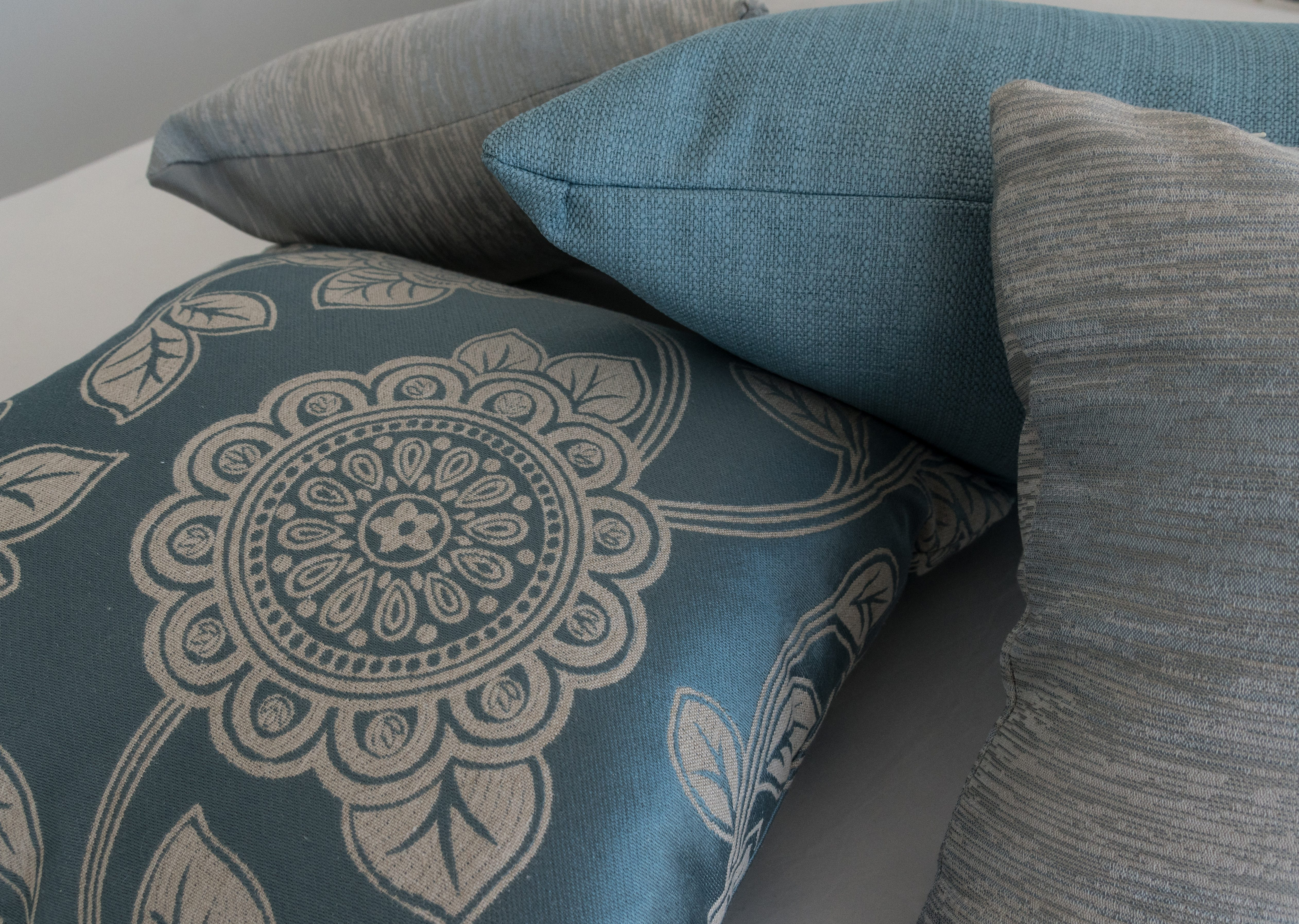 Matching custom cushions